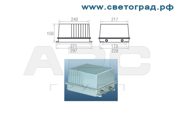 Пра прожектора ГО 24-1000-001