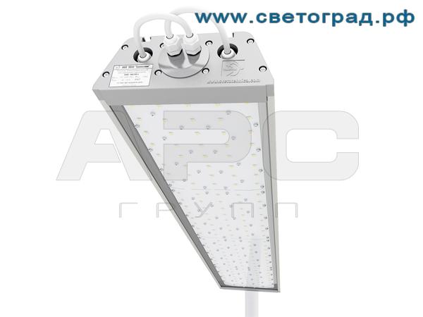 Установка светодиодного светильника уличного ДиУС-160/120