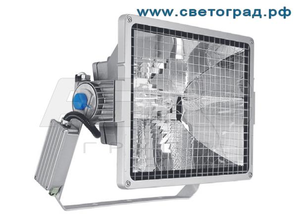 Виброустойчивый прожектор ГО 24-1000-001 с корпусом ПРА