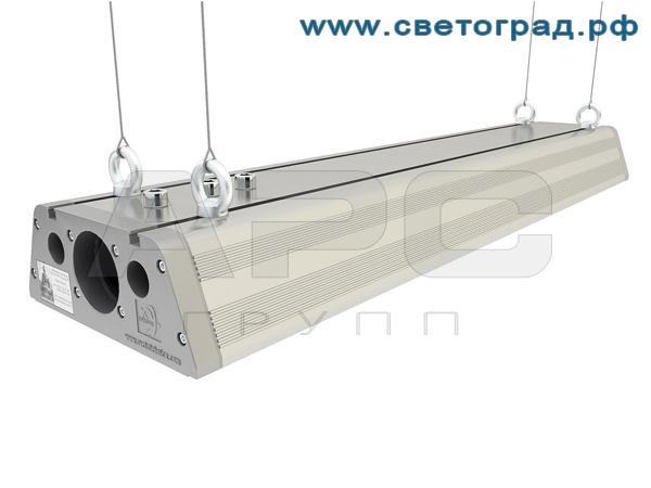 Промышленный светодиодный светильник ДиУС-120-120