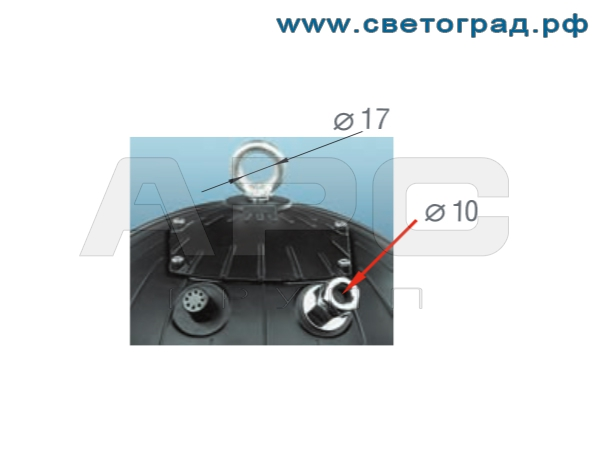 Способ крепления-ЖСП 127-250-003