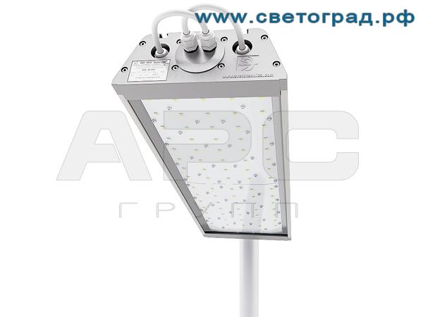 Магистральный светодиодный светильник 90 Вт с широкой кривой ДиУС-80Ш