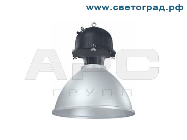Аварийный промышленный светильник 400Вт - ЖСП 127-400-002А с симметричным узким светораспределением для натриевых ламп
