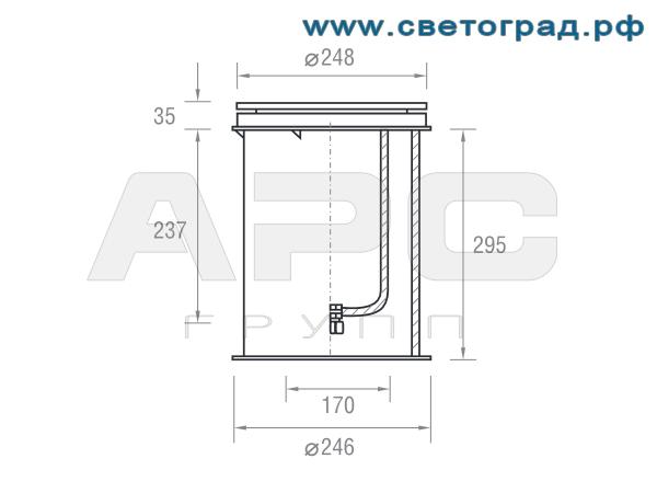 Размеры-ПВУ 626–21х1–002–Оптикс
