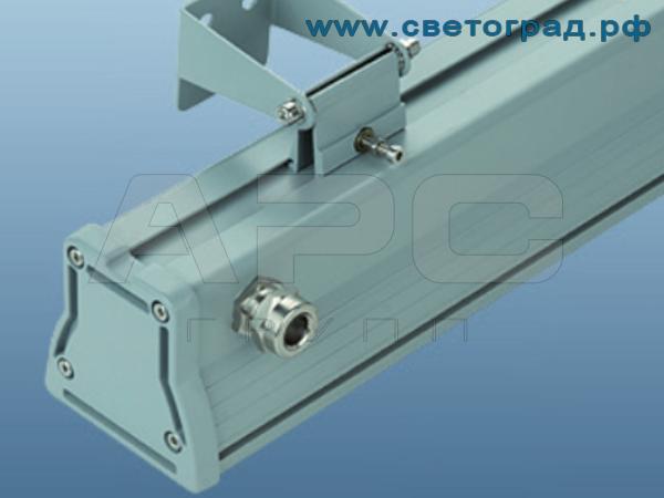 Линейный светильник для люминисцентных ламп ЛБУ 506–001