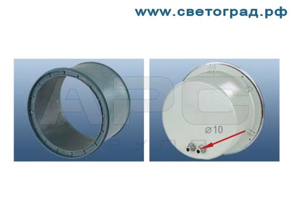 Грунтовый светильник 70Вт - ЖВУ 608–70–001 с асимметричным широким заливающим светораспределением для металлогалогенных ламп