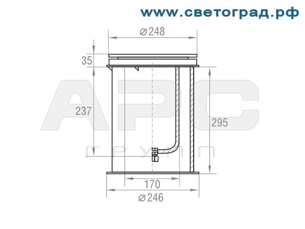 Размеры-ГВУ 626-150-001