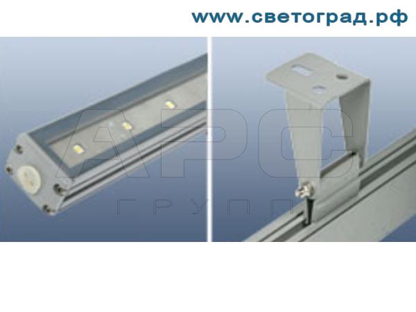 фото Линейный светодиодный светильний ПБУ 506 Декор