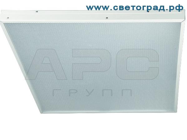 Светильник светодиодный потолочный офисный 40 Вт ПВО 600–40–002–Офис