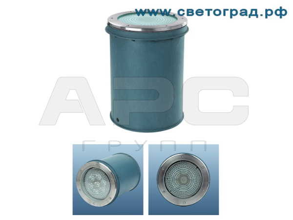 Светодиодный грунтовый светильник ПВУ-626–21х1–001–RGB–DMX–Оптикс