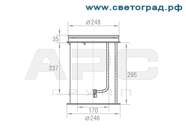 Размеры-ГВУ 626-70-002