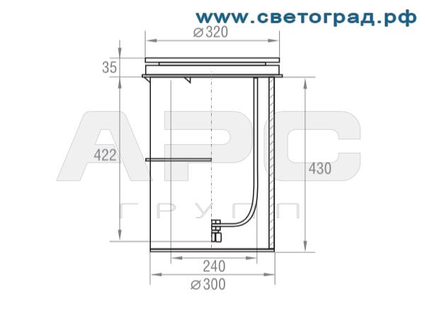 Размеры-ГВУ 630-250-001